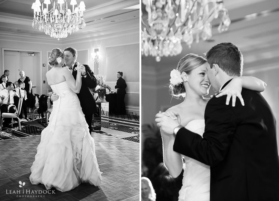 First dance at Colonnade Boston Wedding