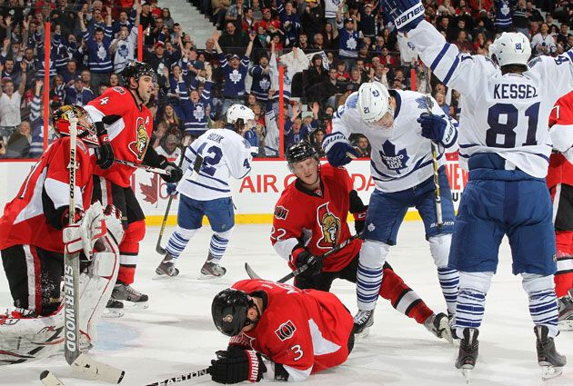 For the first time in the cap era, the Leafs are going to the playoffs. (Getty Images)