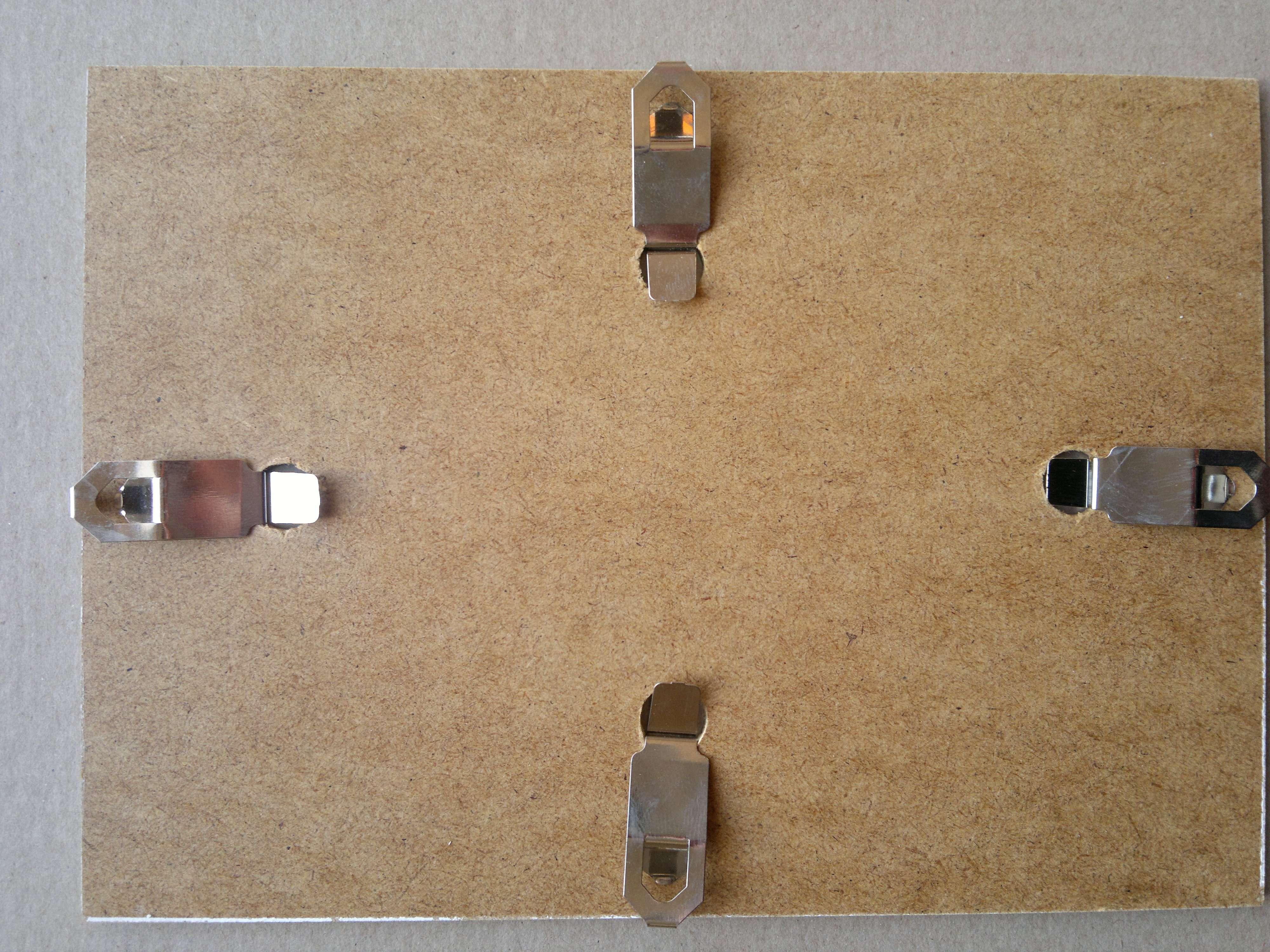 Bilderrahmen Rahmenlos Bildhalter CLIP Rahmen DIN A5 A4 A3 ...
