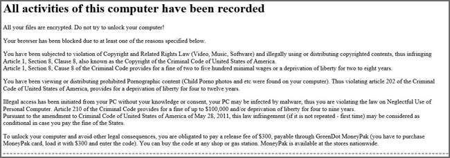 Remove Ransom:JS/Krypterade.A