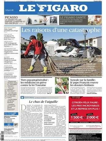 Le Figaro Du Lundi 5 Octobre 2015