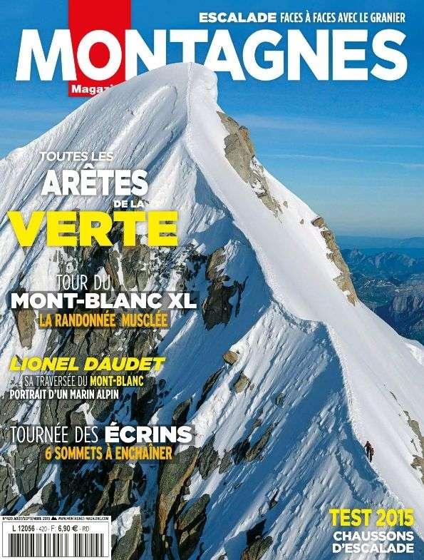 Montagnes Magazine 420 - Août-Septembre 2015