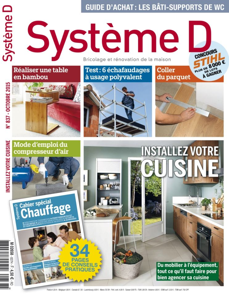 Système D 837 - Octobre 2015