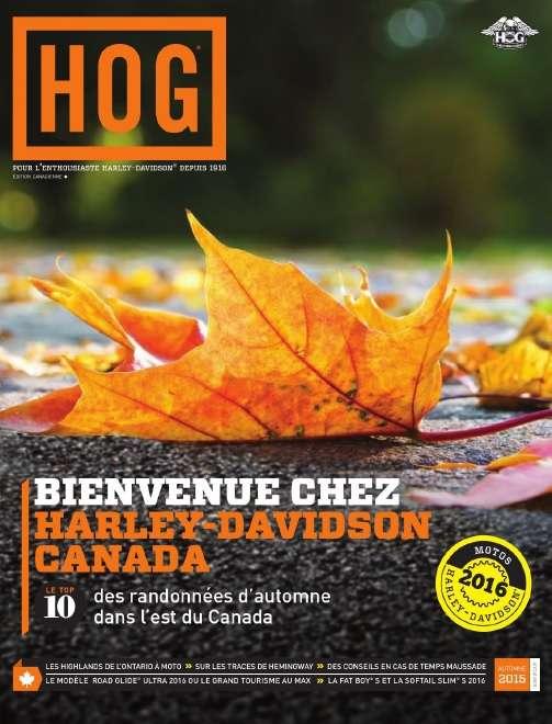 HOG Magazine - Automne 2015