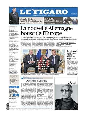 Le Figaro Du Samedi 3 & Dimanche 4 Octobre 2015