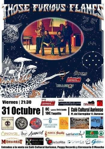 TFF en Ourense. Cartel