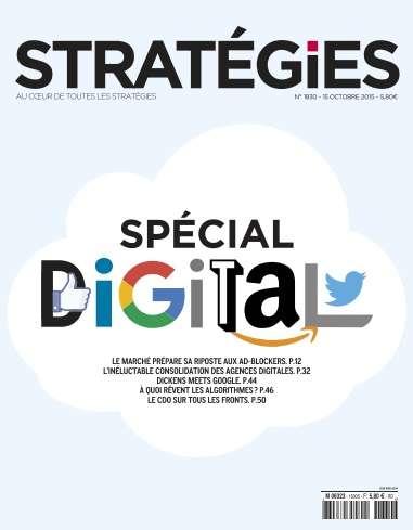 Stratégies - 15 Octobre 2015