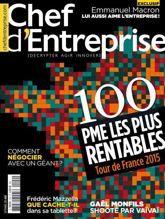 Chef d'Entreprise 100 - Septembre 2015