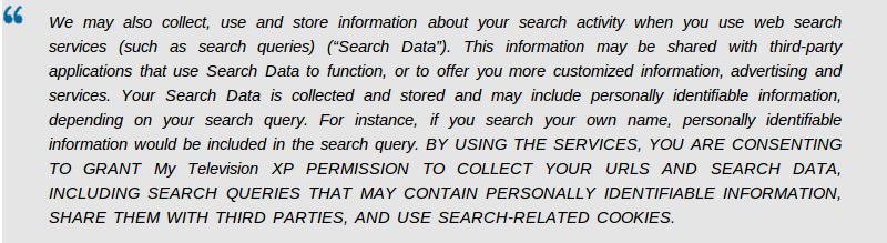 Remove Search.mytelevisionxp.com