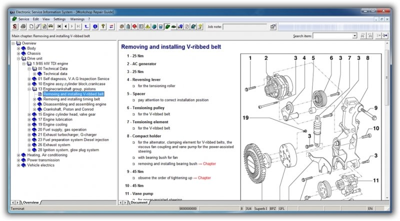 Seat Workshop Service Manual Repair 4 0 Elsawin From 95 To 2012 Multilanguage