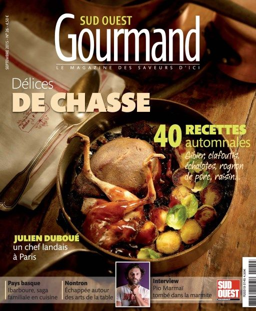 Sud Ouest Gourmand 26 - September 2015