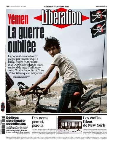 Libération du Vendredi 16 Octobre 2015