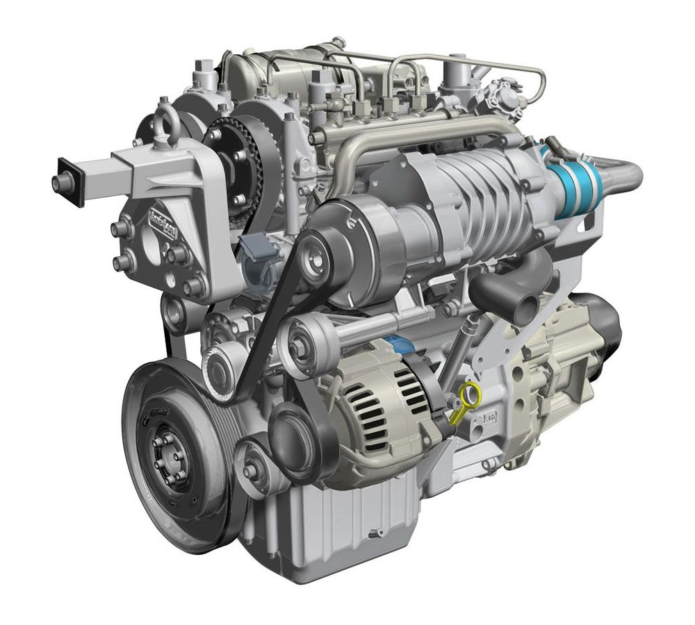 Renault Technology Innovations Two-Stroke Twincharged Diesel Engine