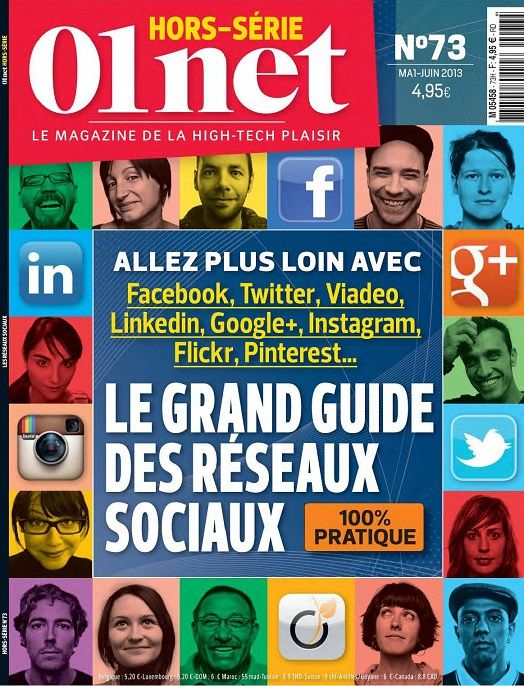 01net Hors Série 73 - Le Grand Guide Des Rèseaux sociaux