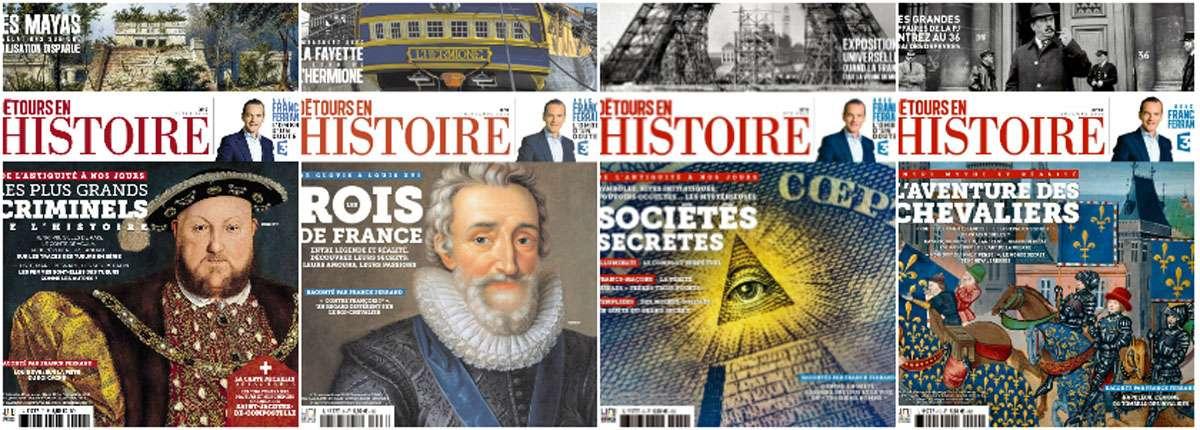 Detours en Histoire - Full Year 2015 Collection