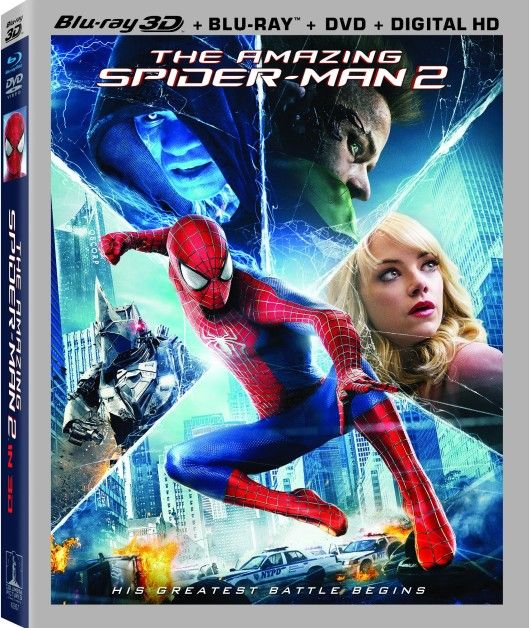The Amazing Spider-Man 2 Il potere di Electro 3D(2014) ISO FULL Bluray 3D AVC DTS HD MA - DDN
