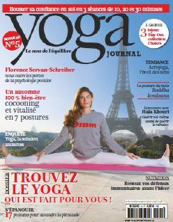 Yoga journal France - Novembre - Decembre 2015