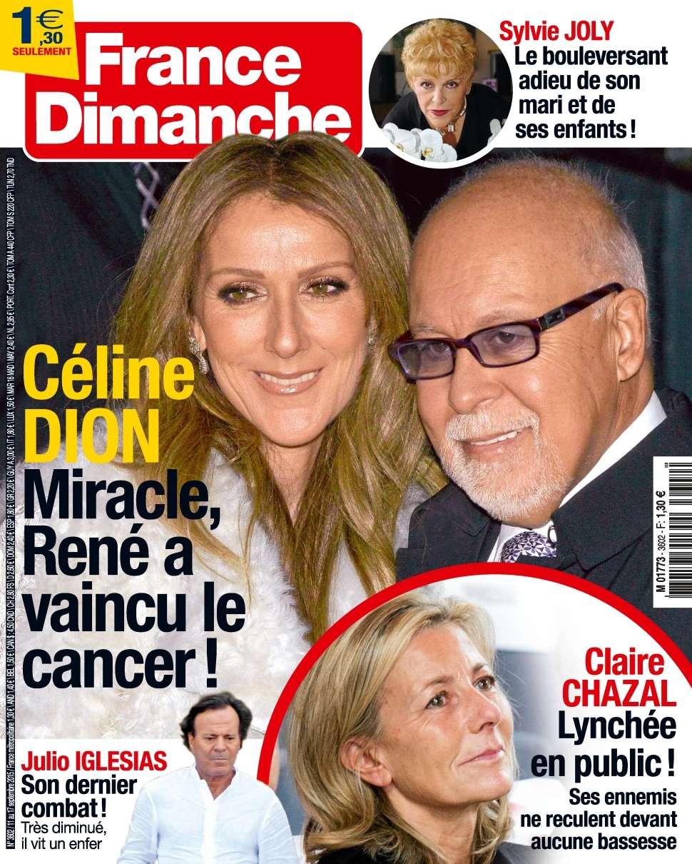 France Dimanche 3602 - 11 au 17 Septembre 2015