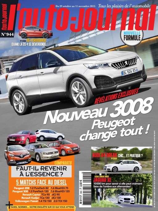 l'Auto Journal 944 - 29 Octobre au 11 Novembre 2015