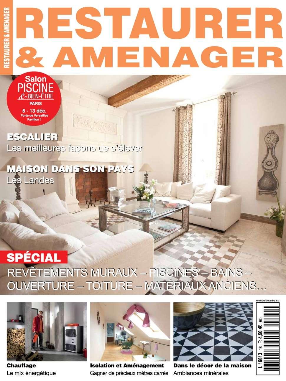 Restaurer & Aménager 18 - Novembre-Décembre 2015