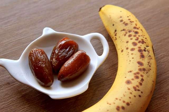 Projekt Zuckerfrei - Datteln und Banane