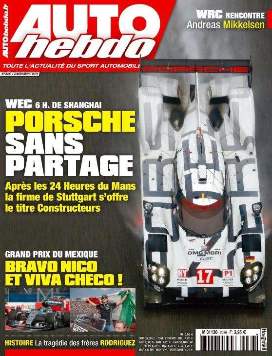 Auto Hebdo - 4 Novembre 2015