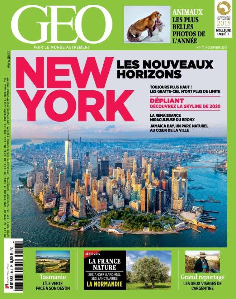 Geo 441 - Novembre 2015