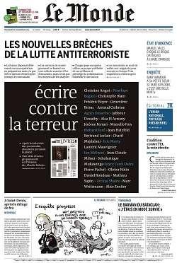 Le Monde et Supplément du Vendredi 20 Novembre 2015