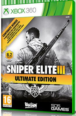 Sniper Elite 3 Ultimate Edition DOWNLOAD XBOX 360 ITA (2015)
