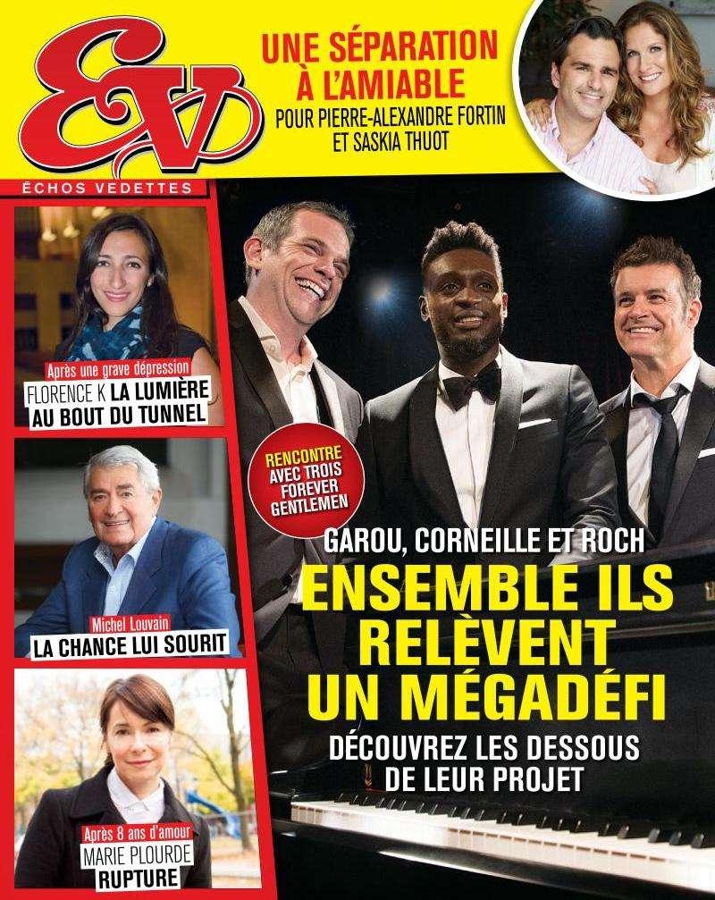 Échos Vedettes - 24 au 30 Octobre 2015