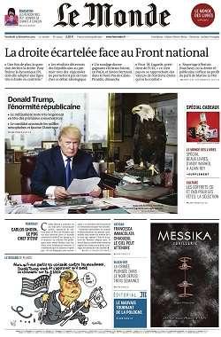 Le Monde et 3 Suppléments du Vendredi 11 Décembre 2015