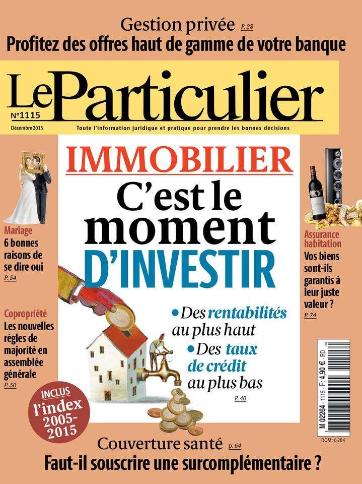 Le Particulier 1115 - Décembre 2015