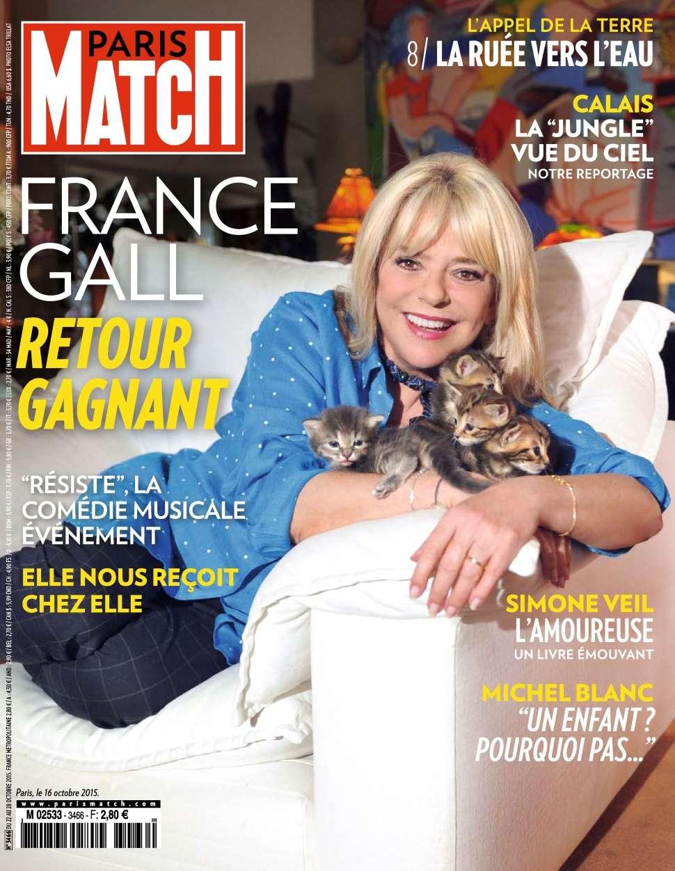 Paris Match 3466 - 22 au 28 Octobre 2015