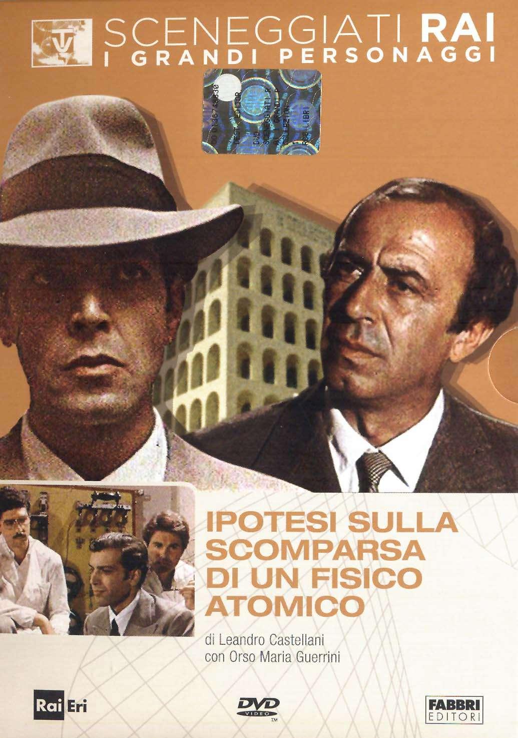 Sceneggiati RAI - Ipotesi sulla scomparsa di un fisico atomico (1972) DVD5 Copia 1:1 ITA