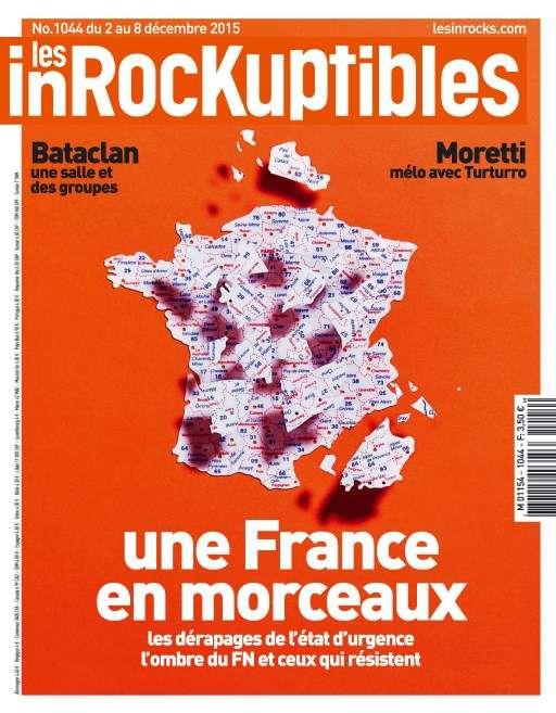 Les Inrockuptibles 1044 - 2 au 8 Décembre 2015