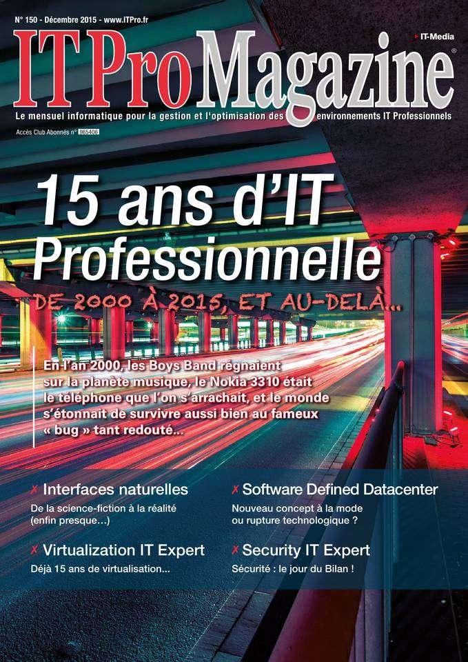IT Pro Magazine - Décembre 2015