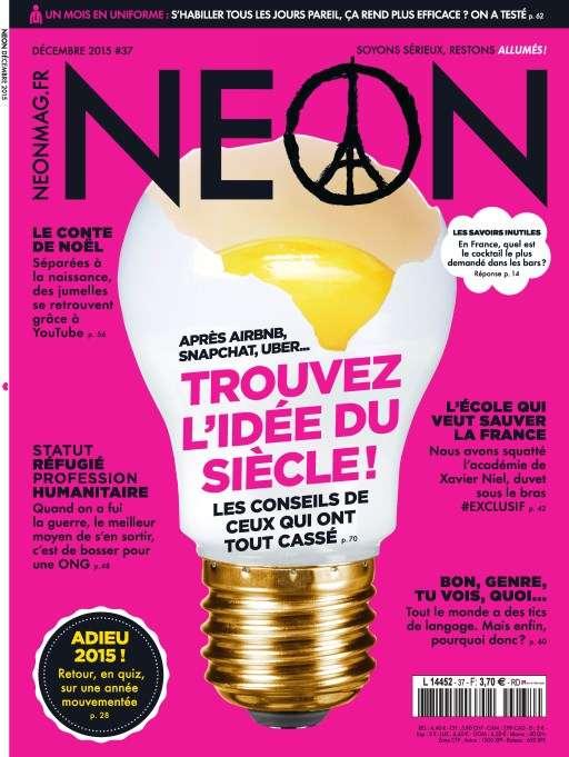 Neon 37 - Decembre 2015