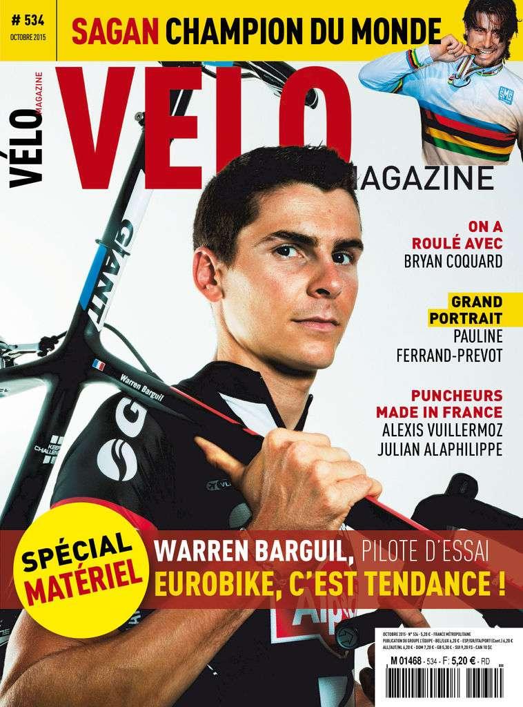 Vélo Magazine - Octobre 2015
