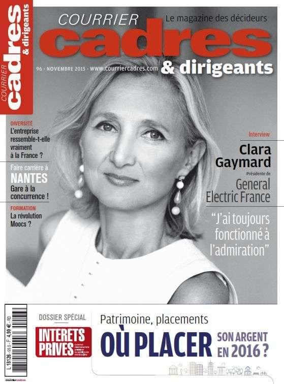 Courrier Cadres & Dirigeants 96 - Novembre 2015