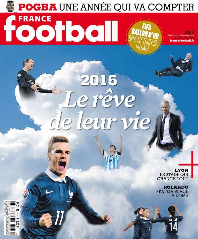 France Football 3636 - 6 Janvier 2016