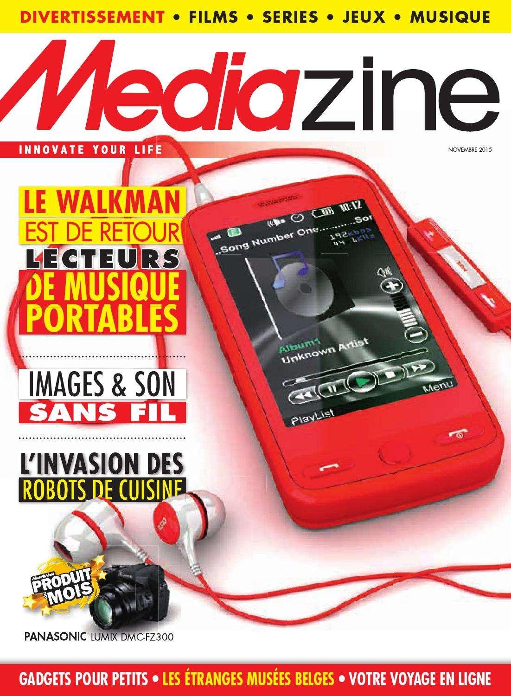 Mediazine Belgique - Novembre 2015