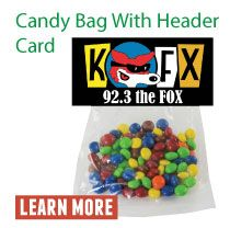 Candy Bag with Header Card