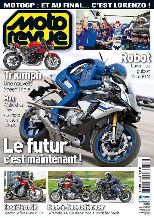 Moto Revue 4015 - 12 au 25 Novembre 2015