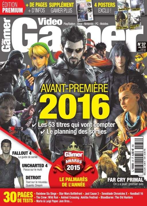 Video Gamer 37 - Janvier 2016