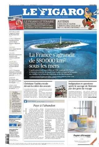 Le Figaro du Jeudi 22 Octobre 2015