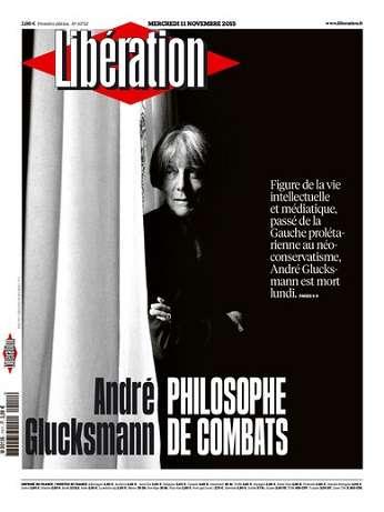 Liberation Du Mercredi 11 Novembre 2015