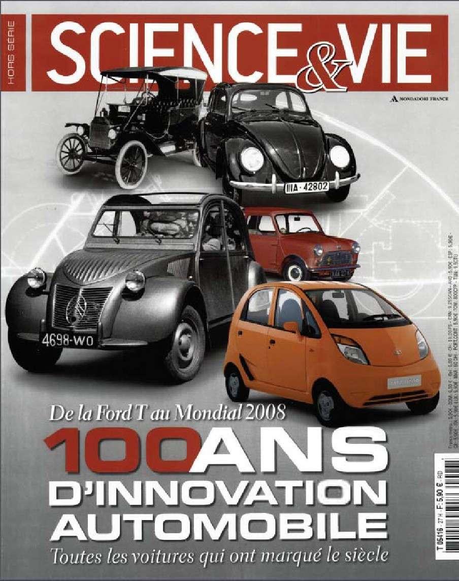 Science et Vie Spécial Hors Série 27 - 100 ans d'innovation automobile