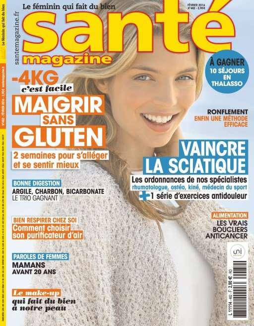 Santé magazine 482 - Février 2016