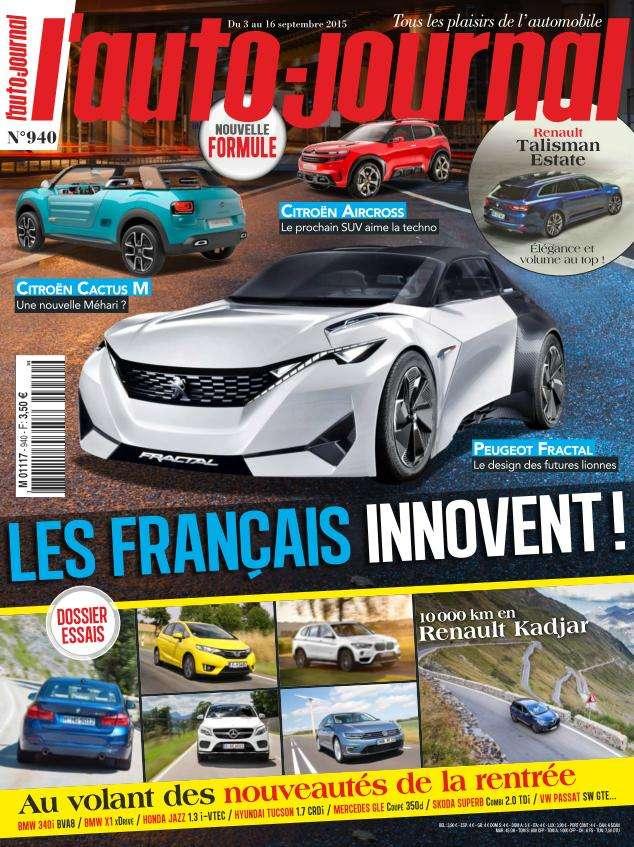 L'Auto-Journal 940 - 3 au 16 Septembre