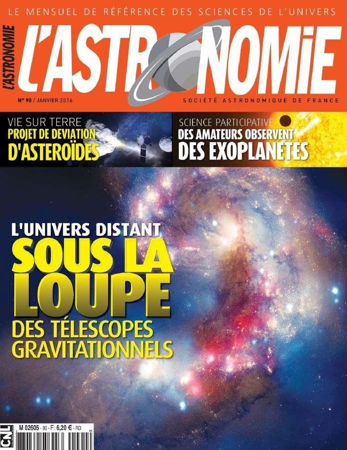 L'Astronomie 90 - Janvier 2016